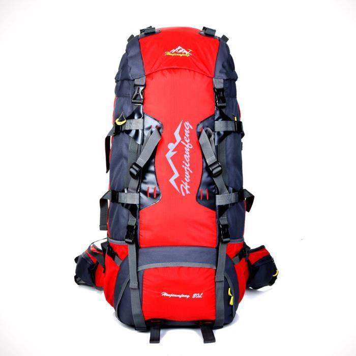 80L Imperméable Sport Tactique Camping Randonnée Sac à Dos Bagages Sac À Dos Nouveau