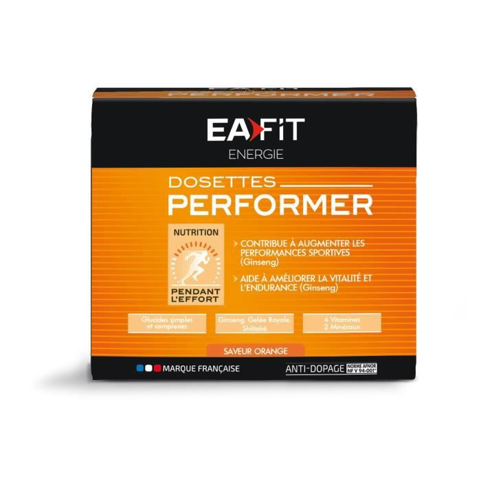 EAFIT Performer Orange - Bte de 10 d