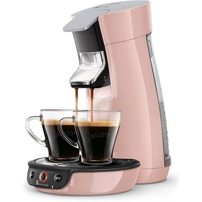 CAFETIERE Philips HD6563-31 Machine &agrave Caf&eacute &agrave Dosettes SENSEO Viva Caf&eacute Rose Poudr&eacute167