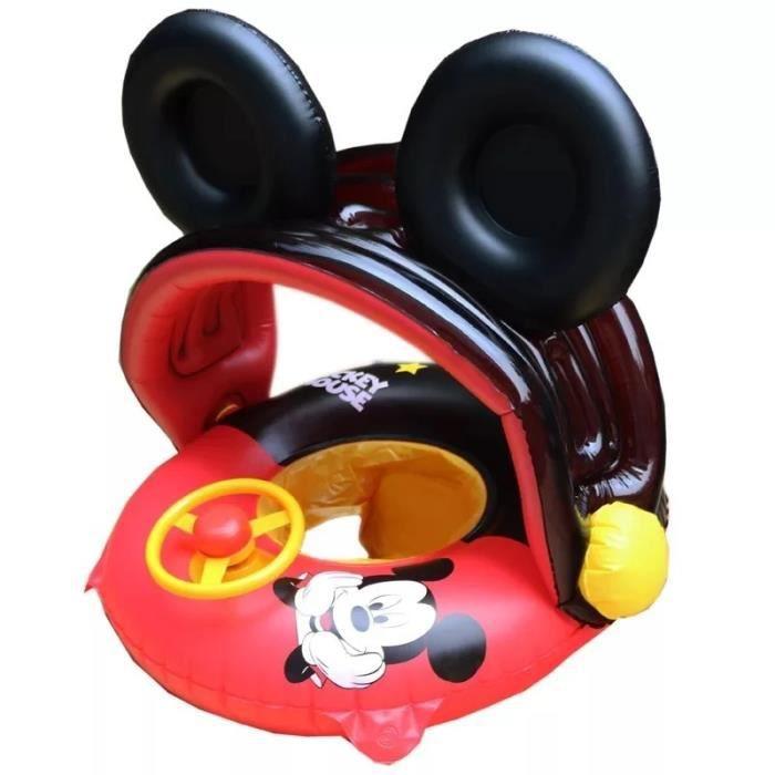 Jouets de piscine gonflables Disney, flotteur géant gonflable, chaise de bateau, pour enfants, Mickey Mouse Minnie Mouse
