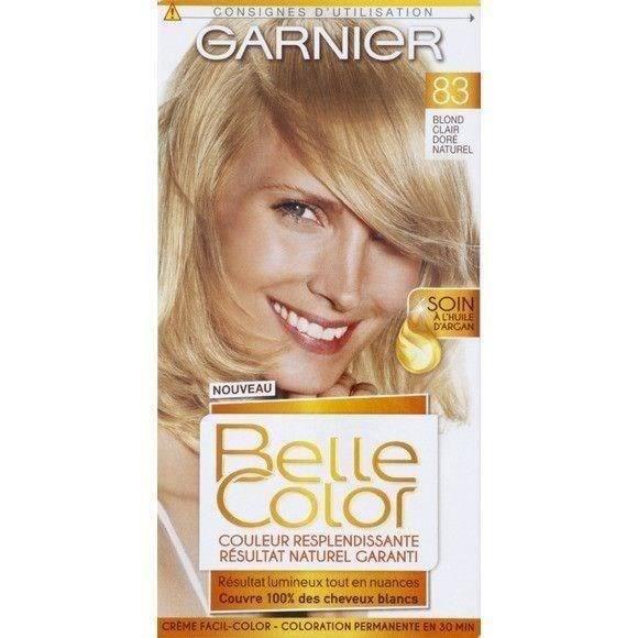 GARNIER Coloration 83 Blond Clair Doré Naturel