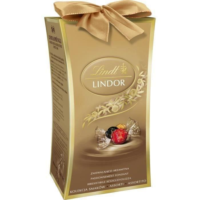 LINDT Mini Cadeau Assorti Lindor - 75 g