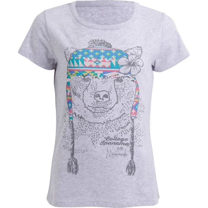 CAMPS T-shirt Ours Enfant Fille