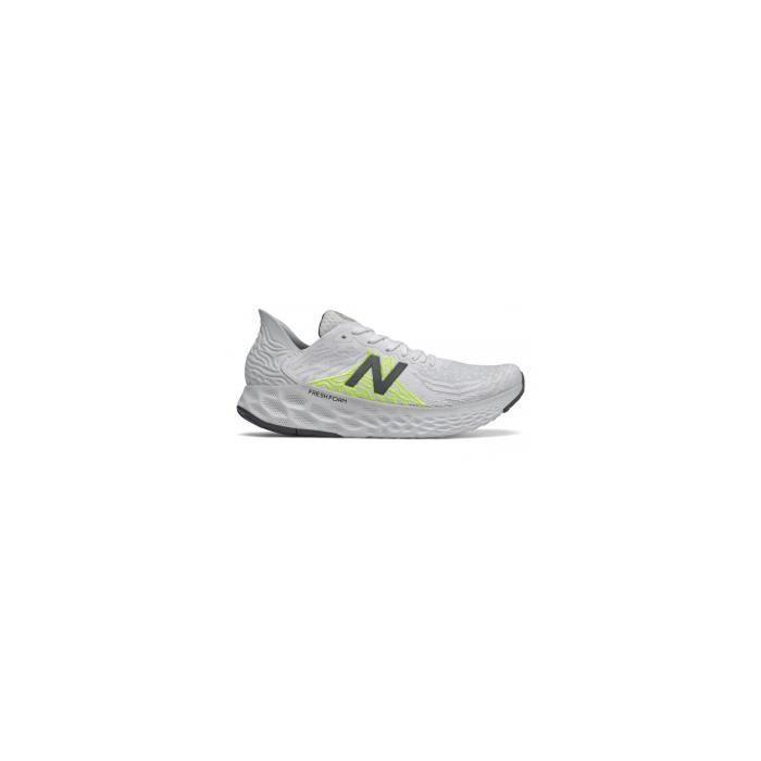 Chaussures Running NEW BALANCE Femme 1080 Blanc / Gris / Fluo AH 2020