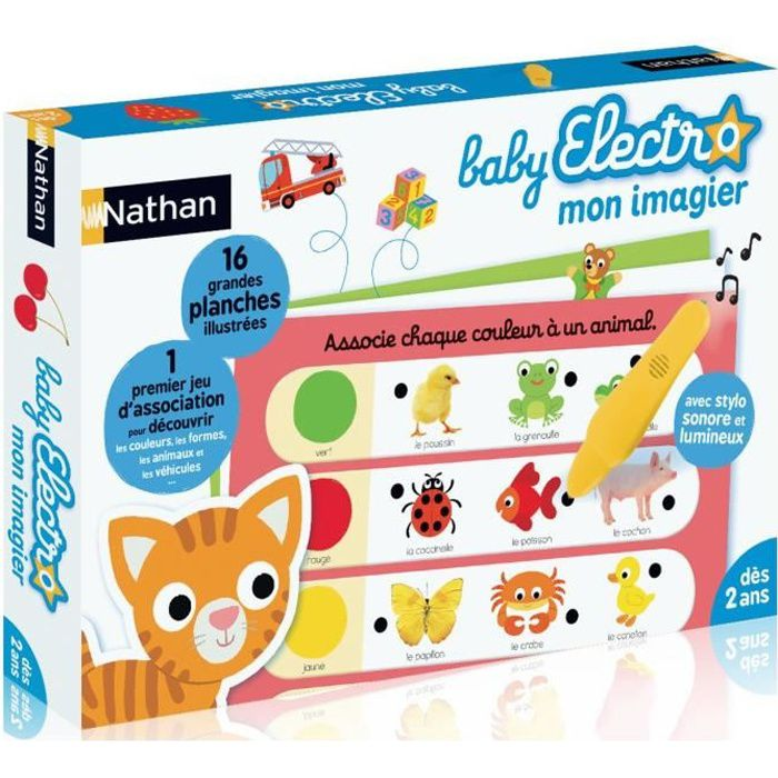 NATHAN Baby Electro - Premier Imagier
