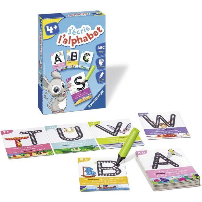 RAVENSBURGER Jeu éducatif J'écris l'alphabet - 4 ans et +