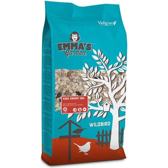 mélange de graine pour oiseaux de la nature, high energy 900 g
