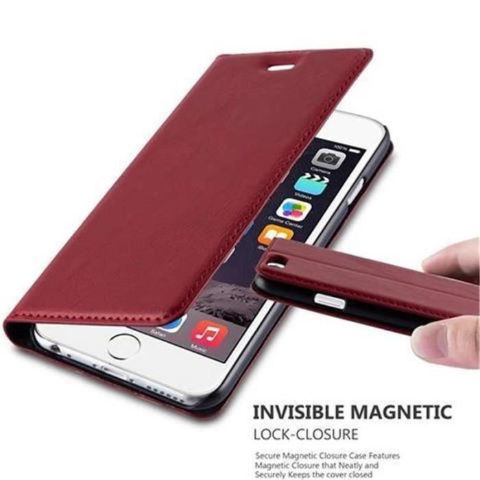 coque apple iphone 6 iphone 6s en rouge de pomme