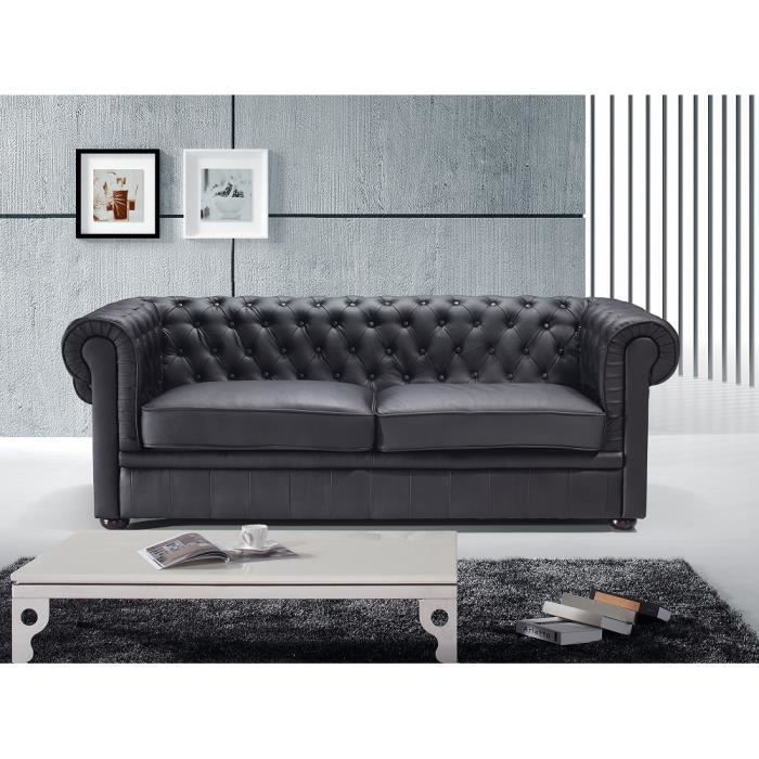 canap chesterfield vintage achat vente canap chesterfield vintage pas cher soldes d s. Black Bedroom Furniture Sets. Home Design Ideas