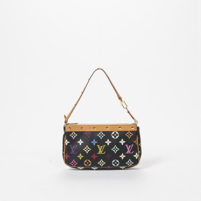 Louis Vuitton - Sac à main - Monogram Multicolor Black - 310 - Achat ... a21b90e2c9e