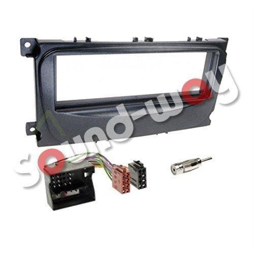 Fa/çade autoradio Faisceau Ford Focus//Fiesta//Mondeo//Escort//Transit avec Vide Poche Sound Way