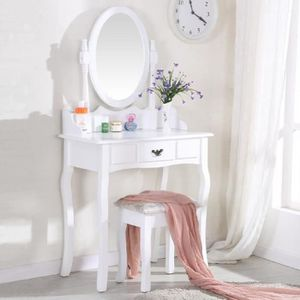 coiffeuse avec miroir enfant achat vente coiffeuse. Black Bedroom Furniture Sets. Home Design Ideas