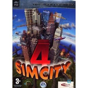 JEU PC SIM CITY 4 / PC CD-ROM