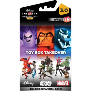 FIGURINE DE JEU Disney Infinity 3.0 Toy Box Expansion Games Takeov