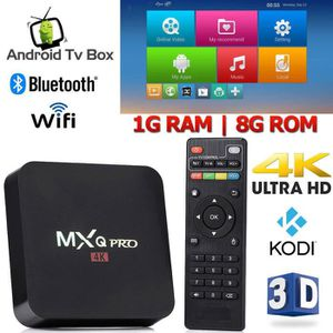 BOX MULTIMEDIA Décodeur multimédias Smart TV Box Android 7.1 Mira