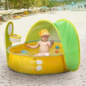 PATAUGEOIRE Piscine à Balles Tente Pour Enfant Bébé Avec Cerce