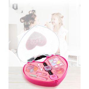 TABLE JOUET D'ACTIVITÉ Princesse Filles Simulation Coiffeuse Maquillage J