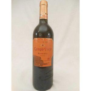 VIN ROUGE campo viejo (étiquette tachée) rouge 2000 - rioja