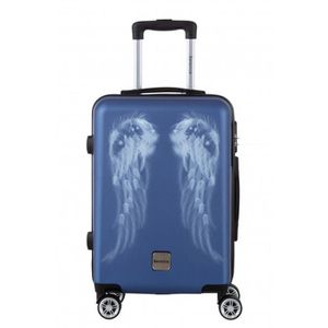VALISE - BAGAGE BERENICE - Valise cabine - BAGAGE RIGIDE ABS - Ble