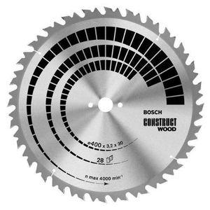 ACCESSOIRE MACHINE Bosch 2608640704 Lame de scie circulaire Construct