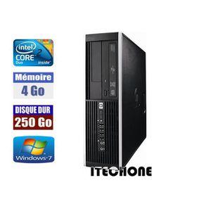 ORDI BUREAU RECONDITIONNÉ HP 6000 Pro Core 2 Duo E8400 3,0 GHz 4 Go DDR3 DIS