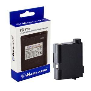 ACCESSOIRE Batterie Midland PB-Pro G7 Pro C1148 1200 mAh