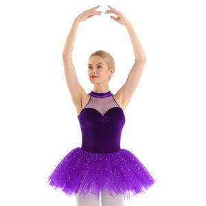 TUTU - JUSTAUCORPS Tutu Danse Classique Femme Robe Ballet Justaucorps