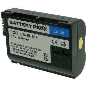 BATTERIE APPAREIL PHOTO Batterie Appareil Photo pour NIKON EN-EL15A