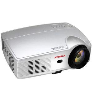 Vidéoprojecteur Vidéoprojecteur Full HD-KONKA PS3 Projecteur 4K-10