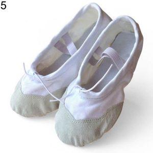 Bloch 209 se Plein Semelle en Cuir Rose Ballet Chaussures De Danse Taille 13