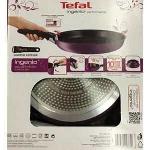 LOT USTENSILES Tefal sauteuse ingenio induction avec poignée amov