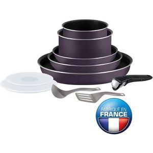 Tefal ingenio 20 pieces induction achat vente tefal - Batterie cuisine tefal ingenio induction ...