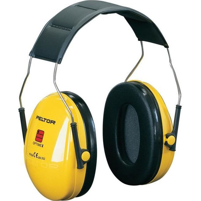 Casque antibruit Peltor Optime 1 27 décibels
