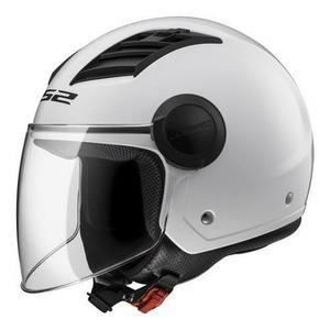 LS2 Casque Jet Twister - Blanc