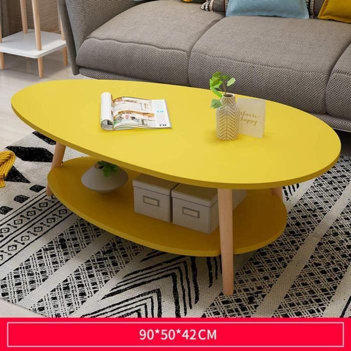 Table Basse Scandinave Simple Et Salon Table Chambre ModernePetit Appartement Table Ronde Canapé d'angle Table Décoration Petit Ta
