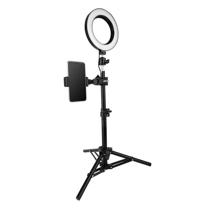 6 po USB LED Lampe Anneau Lumière Vidéo Dimmable pour Photographie Selfie en Direct Studio -OLL