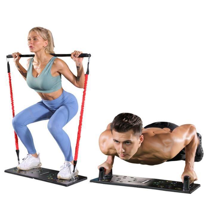 MOYOTEC 14-en-1 Planche à Pompes Équipement multifonctionnel pour Fitness à La Maison