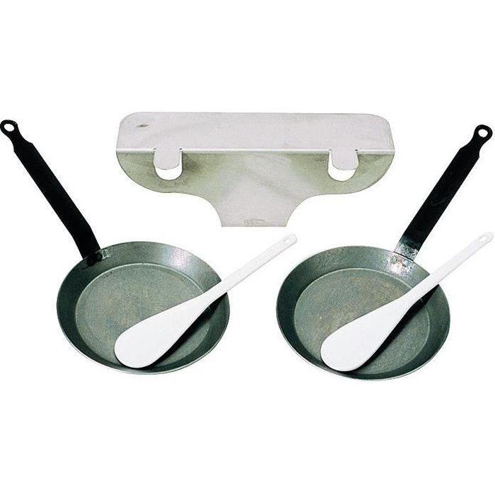 Kit accessoires reblochade pour raclette brézière