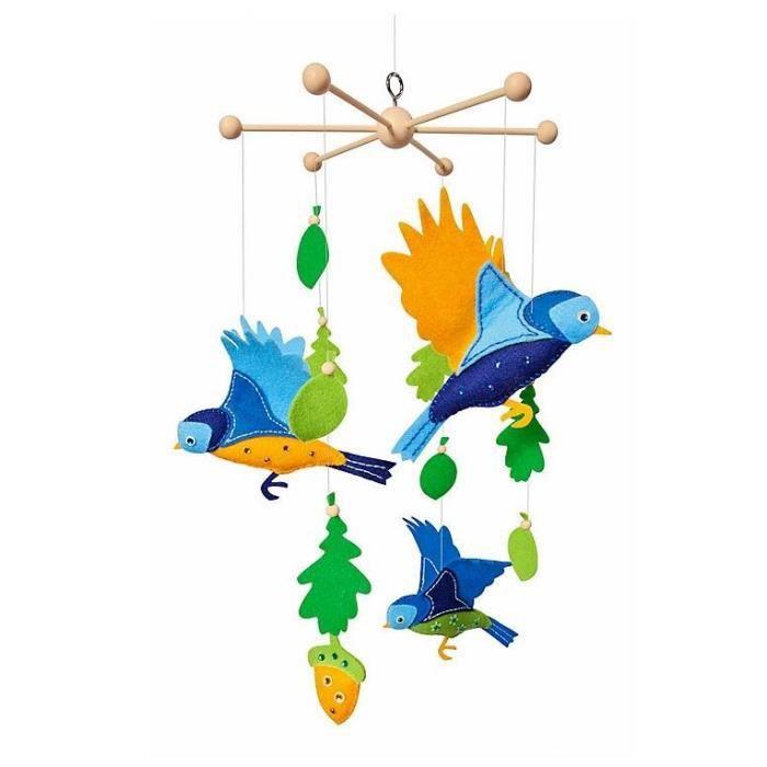 FOLIA Kit Mobile Oiseaux à Faire Soi-même