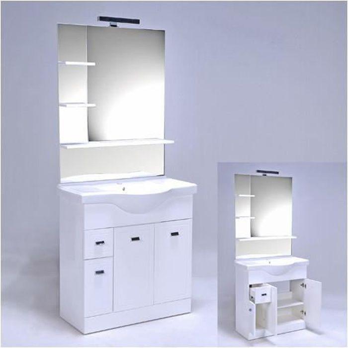 Ensemble de salle de bain MISTRAL / Blanc