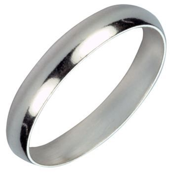 Bague anneau en argent