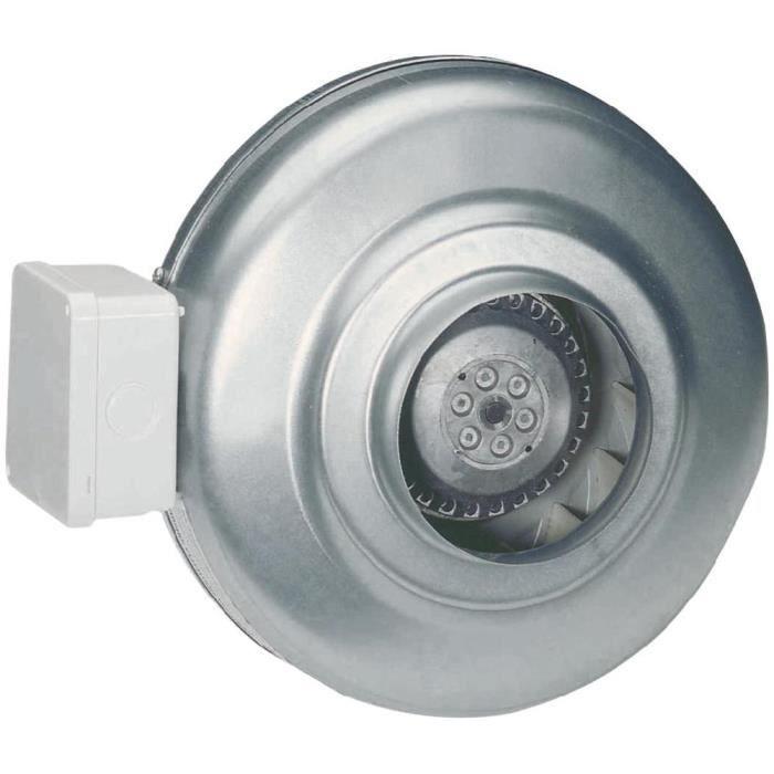 Ventilateur radial tubulaire Ø 125 mm