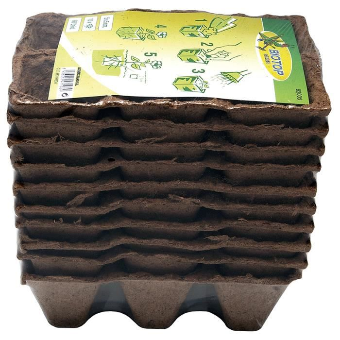 mini serre de germination semis biod gradable achat vente pot de germination mini serre de. Black Bedroom Furniture Sets. Home Design Ideas