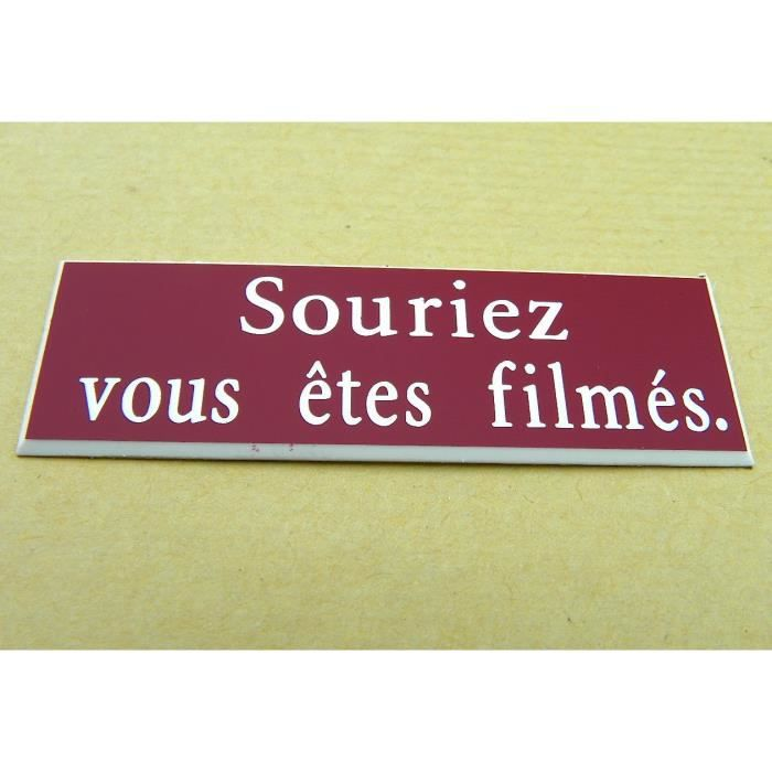 """plaque gravée /""""ENTREZ SANS FRAPPER/""""  ft 29x100 mm"""
