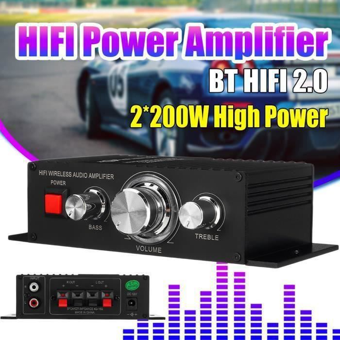 AMPLIFICATEUR HIFI TEMPSA Nobsound Mini Auto amplificateur HiFi bluet