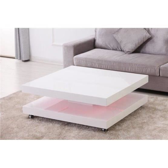 Table basse design DALIUS blanc - Achat   Vente table basse Table ... 6536da448fbb