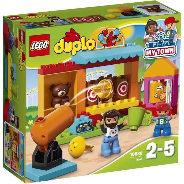 ASSEMBLAGE CONSTRUCTION LEGO® DUPLO 10839 Le Stand de Tir de la fete forai