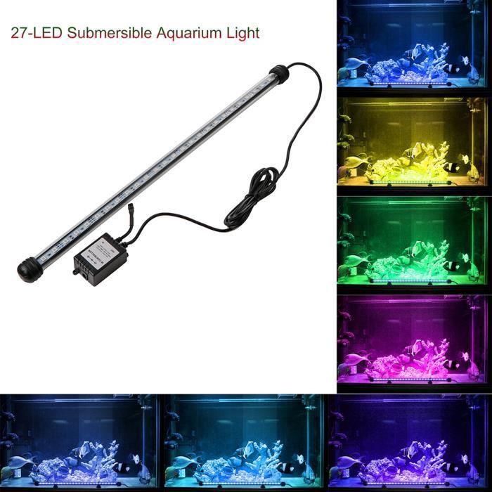 ÉCLAIRAGE 5.5W Lampe 27LEDs Tube Eclairage Lampe de réservoi
