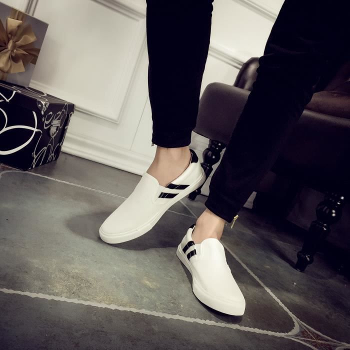 chaussures de toile faible chaussures Slip-on tendance 0UPizQP