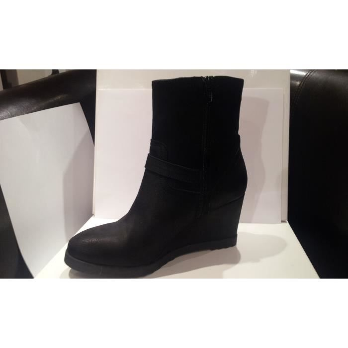 BOTTINES CENTAURE NOIR